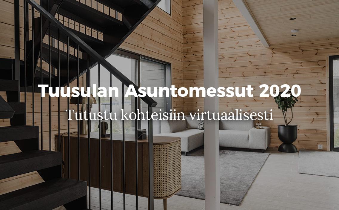 Messukohteet Tuusulassa 2020 virtuaalisesti