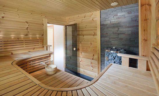 hirsitalo sauna