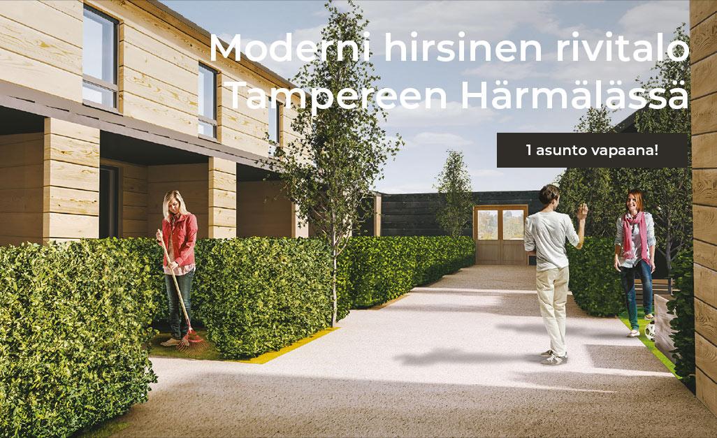 hirsitalo rivitalo Tampere